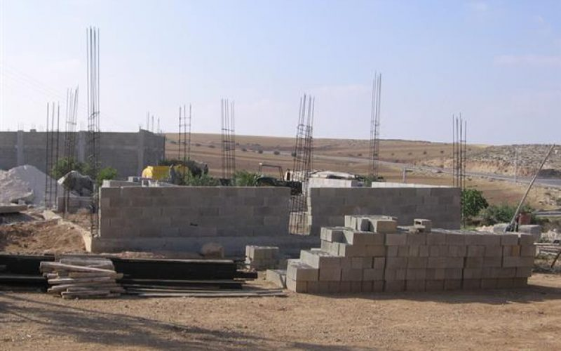 Stop-Work Order in Al Ramadeen – Hebron Governorate