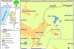 Setting 250 Trees Ablaze in Deir al Hatab – Nablus Governorate