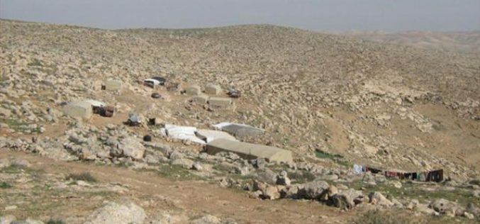 The Israeli Occupation demolishes residents in Beer al Ad Yatta – Hebron Governorate