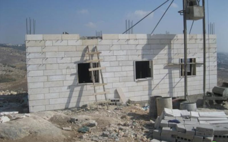Eviction Orders in the Village of Al Jaba' – West of Bethlehem city