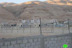 إخطار أربعة مساكن بالإضافة إلى شبكة الكهرباء  في منطقة السطيح – محافظة أريحا