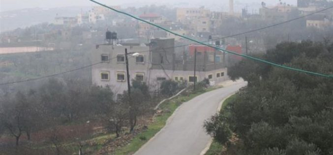 """Israeli Military Orders Extending """"Placing the Hand"""" on Palestinian Lands in the Villages of Iskaka, Marda and the City of Salfeet Benefiting the Racist Isolation Wall"""