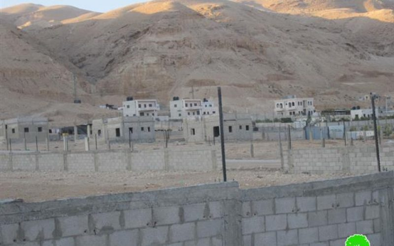 Four Demolition Orders in Steih Area – Jericho Governorate
