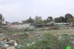 Land Eviction Notifications in At Tawil and Lafjam – Nablus