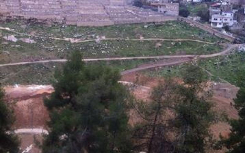 Placing Fifty Phony Graves in a Plot of land in Silwan city