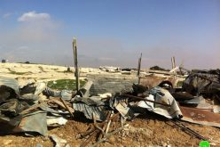 Demolishing 6 Residents in Wa'r al Bek