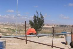 Stop Work Orders Against Solar Panels in the Khirbets of Hreibat Al Nabi and Wadi Juheish South Yatta – Hebron Governorate