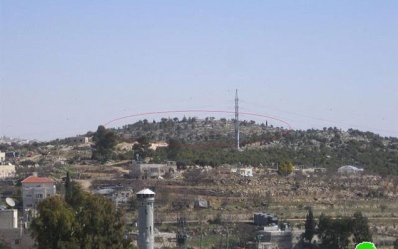 Provocative Tours in Beit Ummar town- Hebron Governorate
