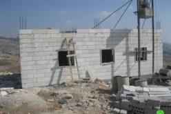 إخطار بإخلاء أراضي في الجبعة غرب بيت لحم