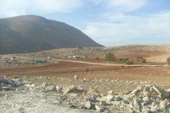 هدم عدداً من البركسات في خربة طانا – محافظة نابلس
