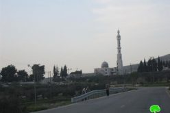 "The Israeli ""High Court of Justice"" Prevents the Call for Prayers at the Salman Al Farisi Mosque  – Nablus Governorate"