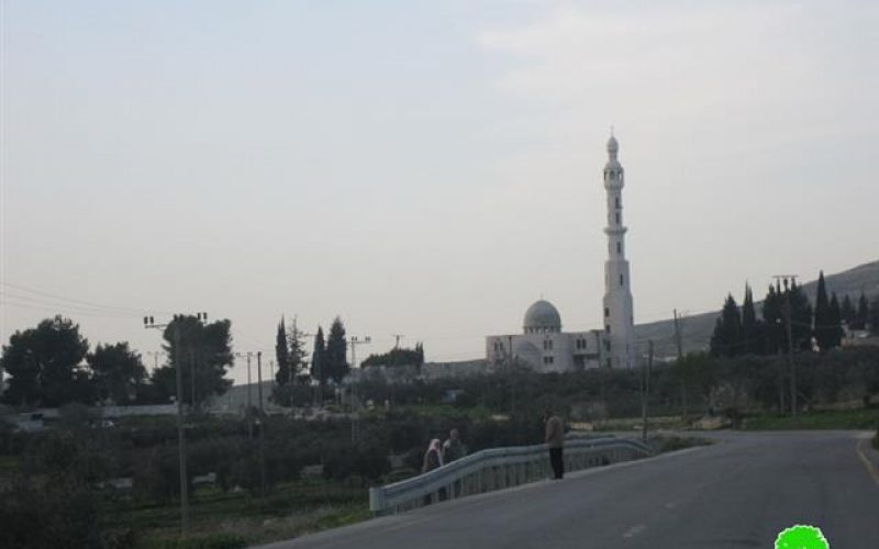 """The Israeli """"High Court of Justice"""" Prevents the Call for Prayers at the Salman Al Farisi Mosque  – Nablus Governorate"""
