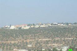 إخطار بمصادرة 21 دونماً من أراضي قرى وبلدات قراوة بني حسان وسرطة وحارس – محافظة سلفيت
