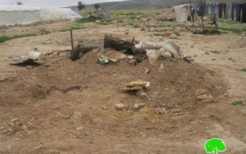 The Israeli Occupation Forces Demolish structures in Fasayel