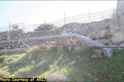 جرافات الاحتلال الاسرائيلي تجتاح وادي المخرور في مدينة بيت جالا وتعيث فيها خرابا