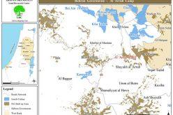 إخطارات بوقف العمل في 7 منازل بمخيم العروب شمال الخليل