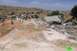 Demolishing Barns and Chicken farms