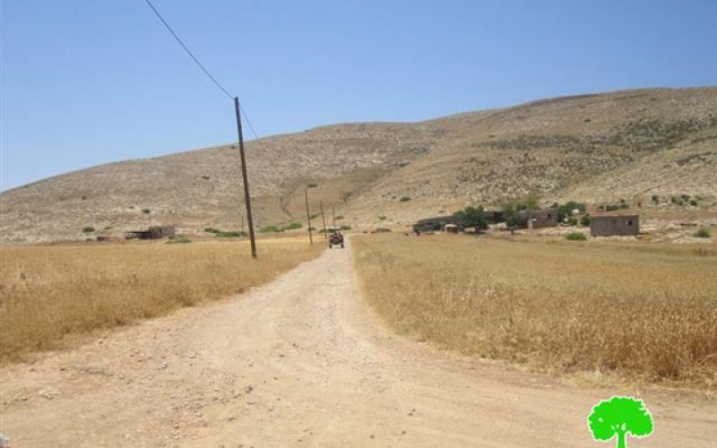 Blocking the Road Connecting Yirza with Tubas City