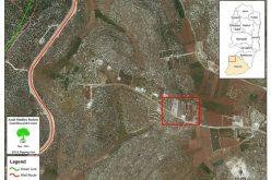 تجريف أراضي زراعية  واقتلاع 400 شتلة زيتون ولوزيات في بيت أولا / محافظة الخليل