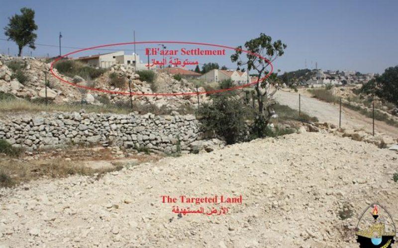 """""""قرية الخضر في دائرة الاستهداف"""" <br> إغلاق أربعة طرق زراعية وإعتداءات على الأراضي"""