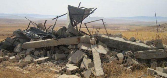Demolishing a Barn in Atouf