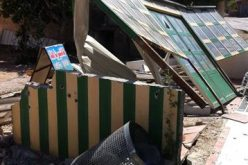 هدم كافتيريا ومصادرة محتوياتها في بلدة حزما
