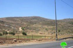الشروع في إقامة بؤرة استيطانية جديدة على أراض قرية المغير