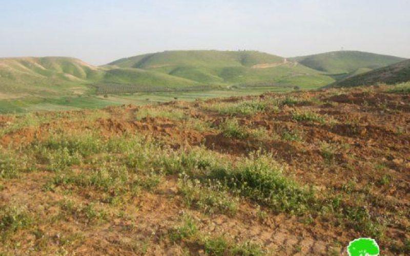 مع بداية موسم الزراعة في الأغوار الاحتلال يحول أراضي الأغوار إلى أرض محروقة