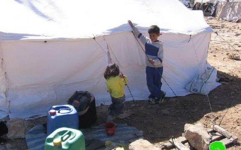 الاحتلال يهدم مسكنا في خربة أم الخير شرق يطا