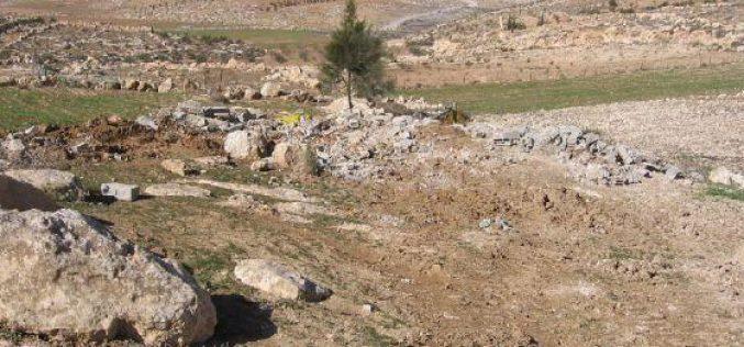 Demolishing a Shack in Yatta