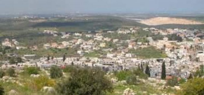 The Israeli occupation notifies 10 families with stop work in Bartaa