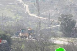 Israeli Dozers Knockdown the Power Network in Beit Jala