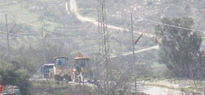 Israeli Dozers Knockdown the Power Network in Beit Jala