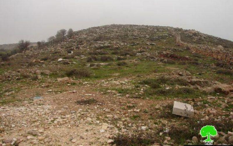 الاحتلال يطمع بالسيطرة على 30 دونماً من أراضي بلدة العديسة – سعير