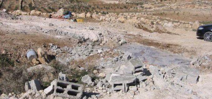 Demolishing Structures in Huwwara