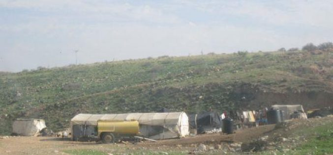 Eviction of Families in Wadi al Maleh
