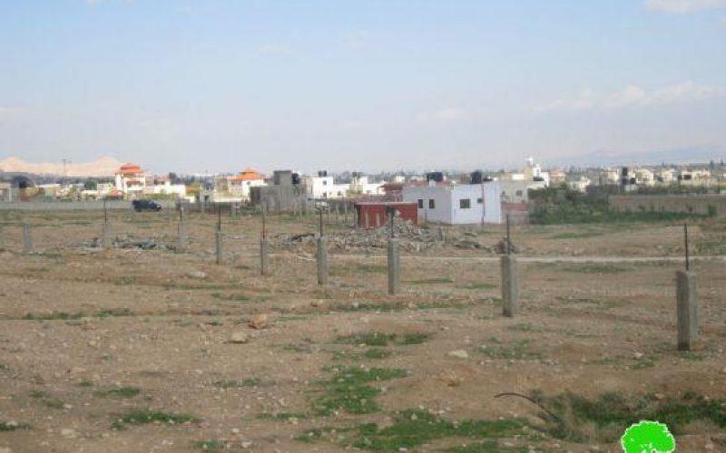 Stop-work Orders in Steih in Steih area in the northeast of Jericho