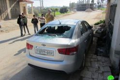 الاعتداء وحرق 6 مركبات في قرية قصرة / محافظة نابلس
