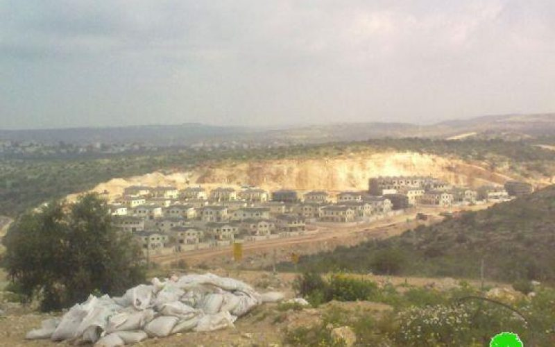 An Israeli company claims its ownership of over five thousand dunums in Salfit