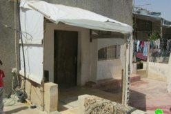 اخطار بوقف العمل والبناء في بلدة  دورا – محافظة الخليل