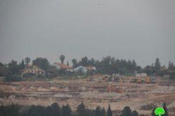 الاحتلال الإسرائيلي يواصل توسعة مستوطنة سلعيت في أراض كفر صور