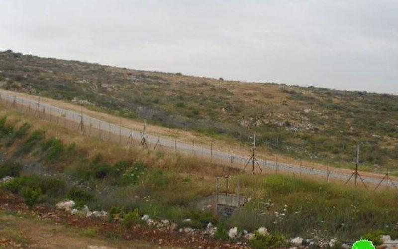 """الإعلان عن تسجيل 29.629 دونم من الأراضي الفلسطينية لصالح شركة """"نحلاة"""" الإسرائيلية في قرية سنيريا"""