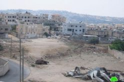 The Israeli Occupation Tears down a Warehouse in Ramallah