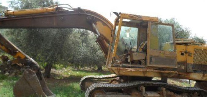 Setting 22 Dunums of Agricultural Lands Ablaze in Urif village -Nablus Governorate