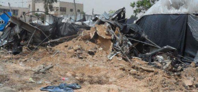 Demolition of Three Industrial Workshops in Jinsafut