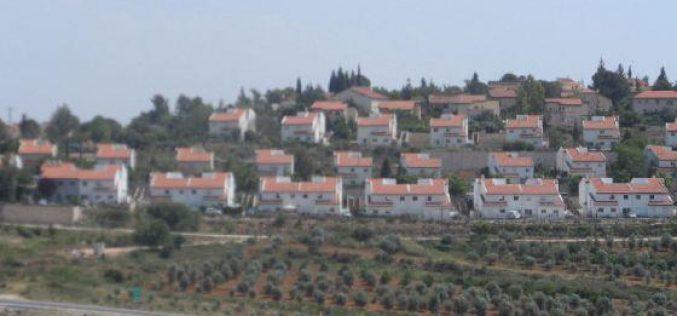 """الاحتلال الإسرائيلي يشرع بتوسيع مستعمرة """"حلميش"""" / محافظة رام الله"""