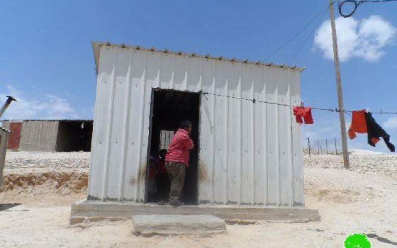 Israeli Stop-work orders for 9 Palestinian residences in Khashm al Karm in Yatta – Hebron