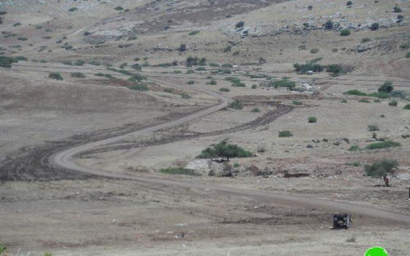 التدريبات العسكرية الإسرائيلية في الاغوار الفلسطينية تدمر المحاصيل الزراعية