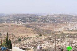 مخطط إسرائيلي لبناء 550 وحدة  سكنية جديدة في مستوطنة بروخين / محافظة سلفيت