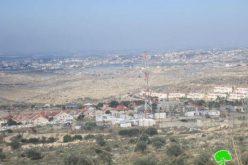 """أعمال توسعة كبيرة تشهدها مستوطنة """"افني حيفتس"""" على أراضي قرية كفر اللبد"""